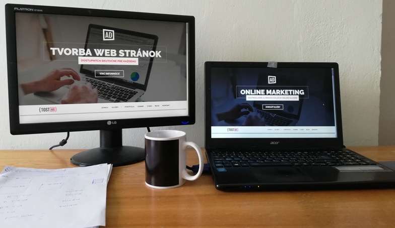 tvorba firemných web stránok Prešov