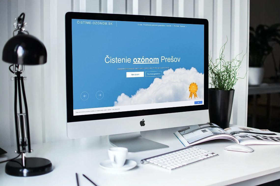 čistíme ozónom tostad tvorba web stránok